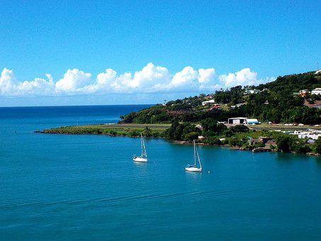St, Lucia, Caribbean, Vacations, Water, Ocean, Island