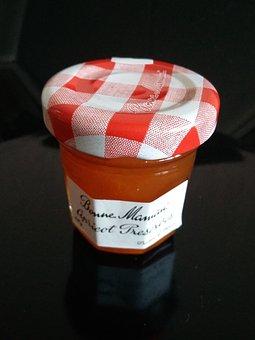 Jam, Glass, Lid, Food, Apricot, Eat, Taste