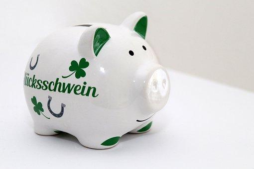 Piggy Bank, Pig, Lucky Pig, Piglet, Luck