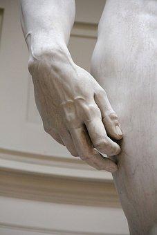 Statue, Michelangelo, David, Florence, Marble