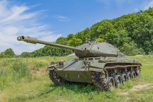 Tank, Barrel, Rust, Military, Metal, Steel, Army