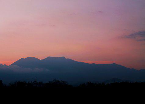 Mountain, Gunung, Indonesia, Nature, Landscape, Java
