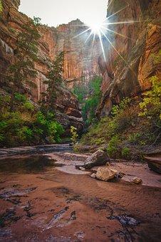 Utah, Red Rock, Canyon, Desert, Red, Rock, Nature