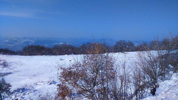Bulgaria, Snow, Enterprises, Mountain, Nature