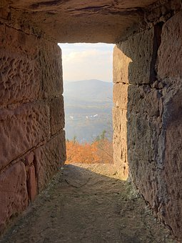 Embrasure, View, Window, Hole, Places Of Interest, Wall