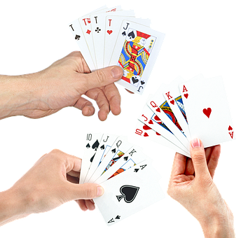 Hands, Playing Cards, Poker, Suit, Casino, Good Luck