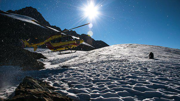 Mountains, Mountaineering, Rescue Helicopter