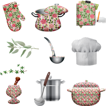 Pots And Pans, Shabby Chic