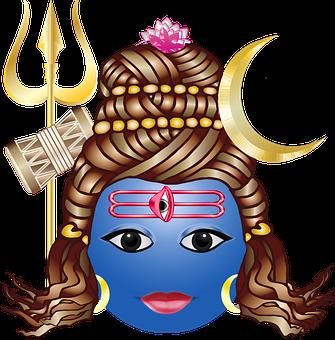 Graphic, Shiv, Shiva, Siva, Smiley, God, Hinduism