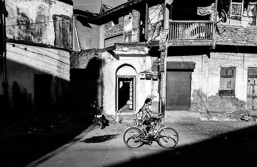India, Street, Street Photography, Black And White