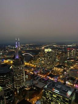 Nashville, Tennessee, Skyline, Downtown