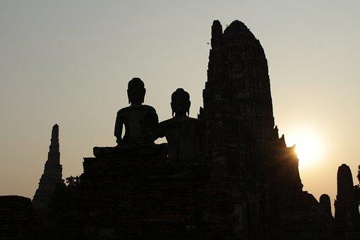 Thailand, Temple, Buddha, Asia, Buddhism, Buddhist, Wat