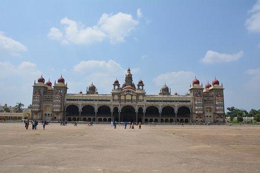 Mysore, Palace, India, Architecture, Travel