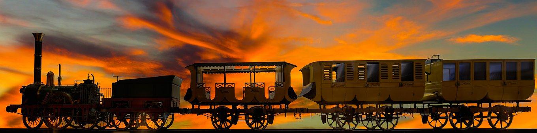 Background, Travel, Vacations, Train, Locomotive
