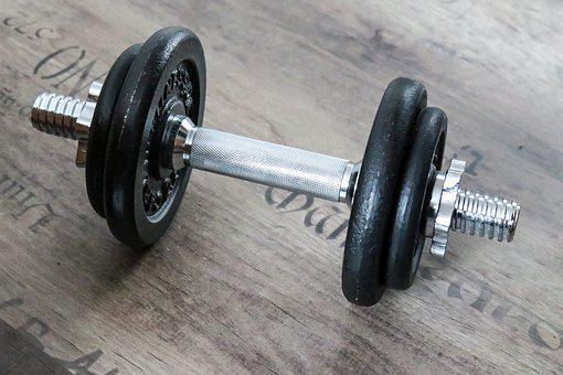 Dumbbell, Weight, Fitness, Strength Training, Muscles