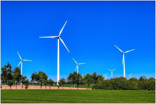 Pinwheel, Sky, Wind Power, Energy, Wind Energy, Nature