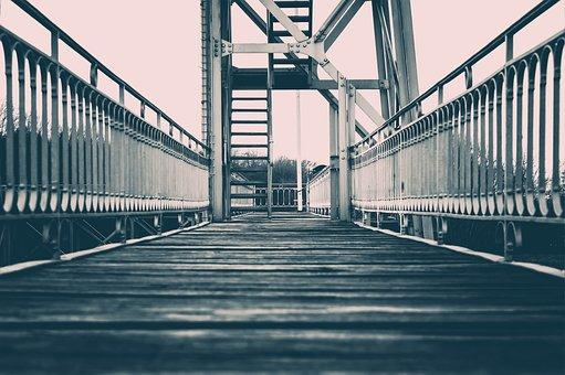Bridge, Web, Boardwalk, Railing, Architecture