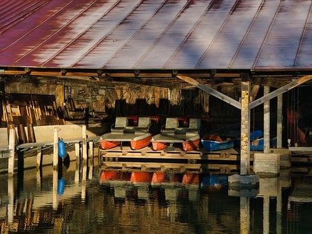 Port, Boats, Storage, Boat House, Parking Space