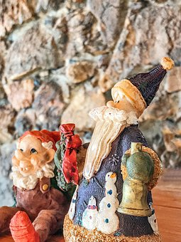 Christmas, Figures, Decoration, Nicholas, Santa Clos