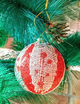 Christmas, Christmas Tree, Ball, Decoration, Advent