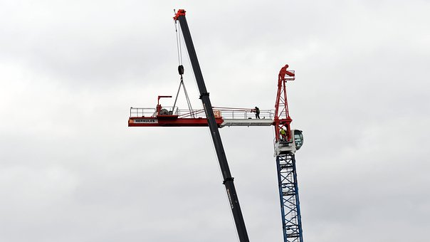 Cranes, Equipment, Construction, High, Industry
