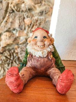 Christmas, Figures, Decoration, Elf, Funny, Fantasy