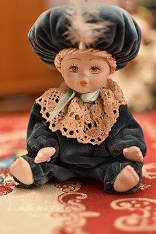 Doll, Decoration, Christmas, Figure, Fantasia, Face
