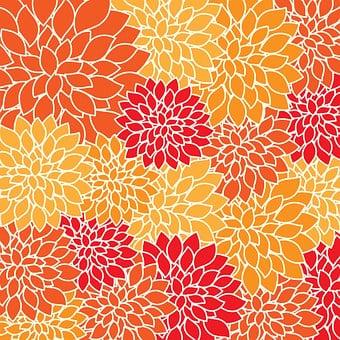 Flower, Flowers, Vintage, Floral, Art, Dahlia, Dahlias