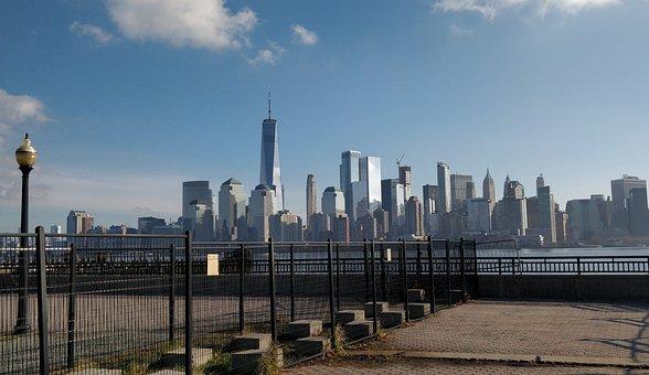 New York, Skyline, Freedom Tower, Cityscape, Nyc