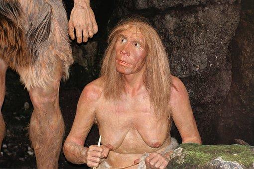 Ancestor, Neanderthal, History, Hair, Girl, Fantasy