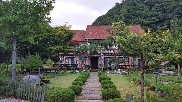 House, Pension, Home, Korea