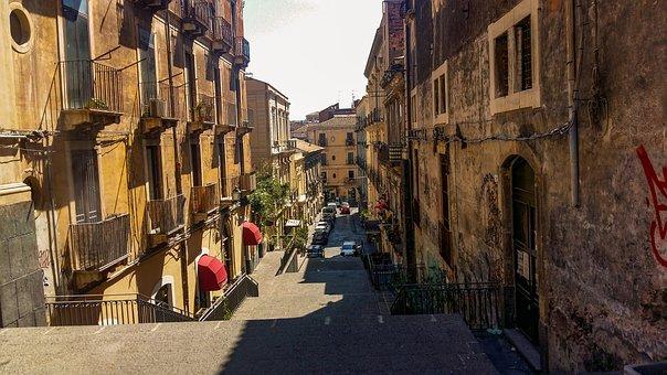 Alley, Italian, South Italy, Mediterranean, City