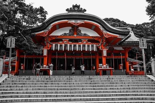 Japan, Shrine, Kyoto, Temple, Culture, Japanese, Tokyo