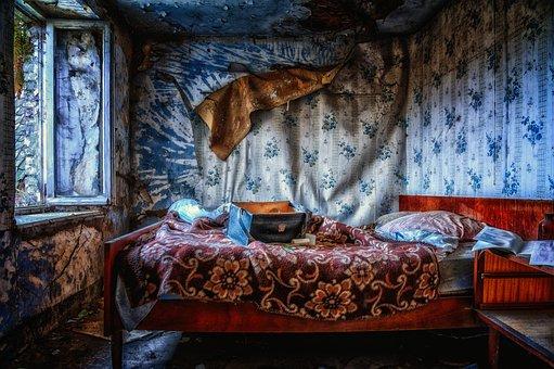Bedroom, Bed, Sleep, Window, Lost Places, Pforphoto