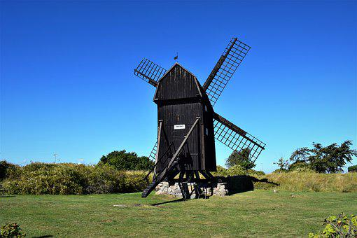Perth, The Windmill, Sweden, Mill, Monastery