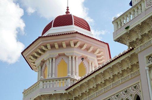 Cienfuegos, Residence, Pavilion, Moorish, Architecture