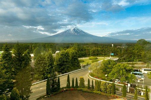 Mount Fuji, Japanse, Mountain, Japan, Landscape, Fuji