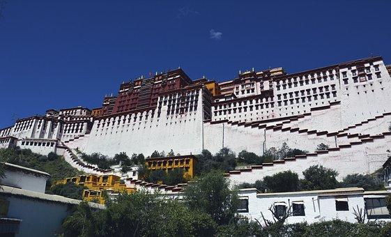 Potala, Palace, Lhasa, Tibet, Buddhism, Travel, Tibetan