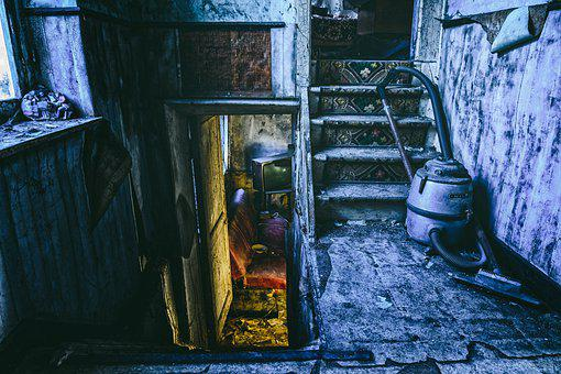 Abandoned Places, Room, Space, Bedroom, Bed, Old, Past