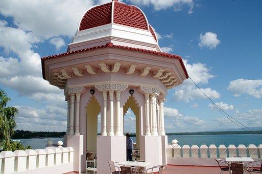 Cuba, Cienfuegos, Pavilion, Moorish, Architecture