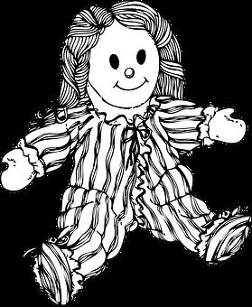 Doll, Toy, Raggedy Ann, Raggedy Andy, Stuffed Toy