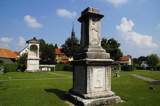 Slovenia, Roman Necropolis, Archaeological Site