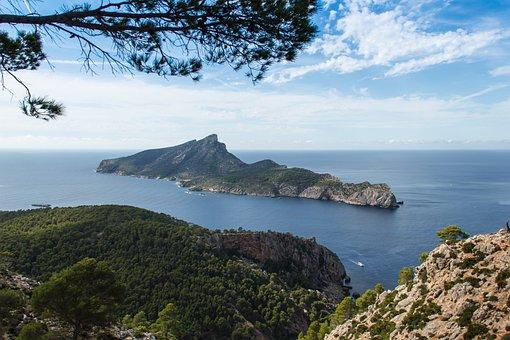Island, Sa Dragonera, Mallorca, Spain, Mediterranean