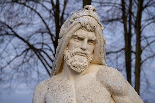 Stone, Figure, Statue, Cold, Winter, Sculpture, Face