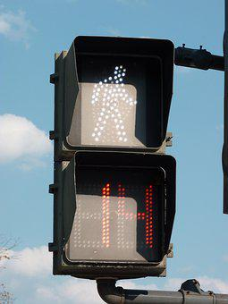 Pedestrian, Walk, Walking, Street, Sign, Symbol, Bridge