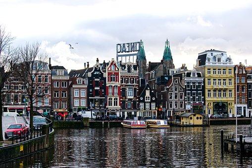Nábřěží, Amsterdam, The Netherlands, The Waterfront