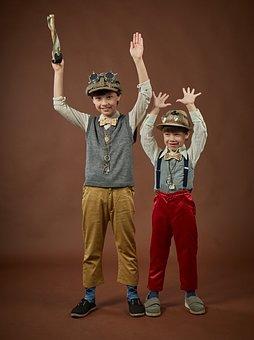 Kids, Boys, Game, Costumes, Theatre, Childhood, Braces