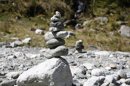 Steinmanderl, Stones, Cairn, Turret, Stone Tower