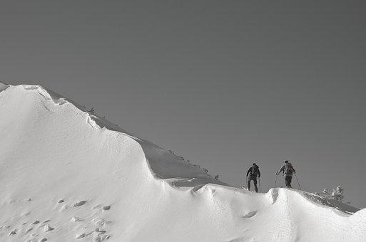 Snow, Backcountry Skiiing, Wintry, Winter Sports, Cold