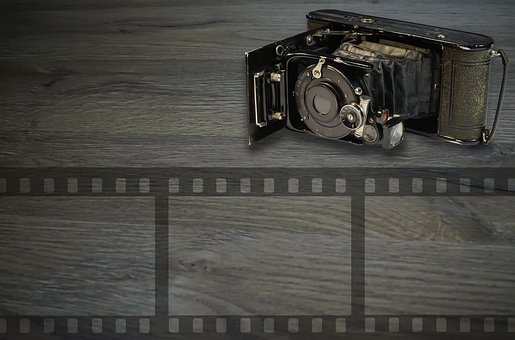 Old Camera, Background, Technology, Analog, Photography